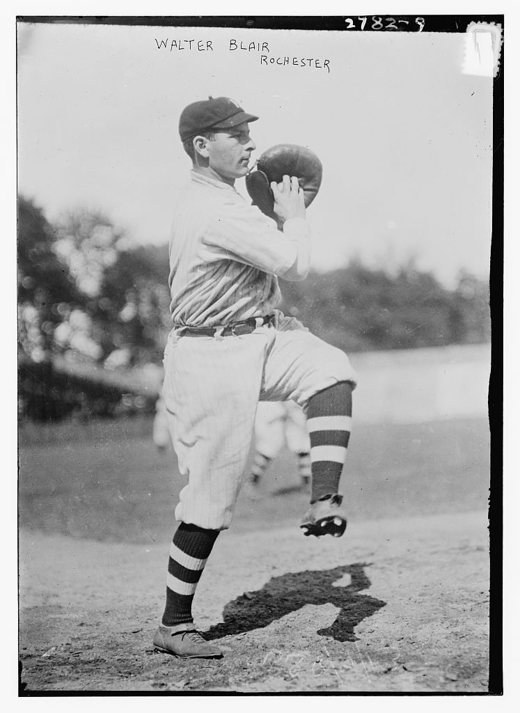 Walter Blair, catcher, Rochester, International League (baseball) - (Library of Congress)