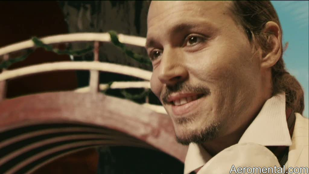 Imaginarium Johnny Depp sonríe
