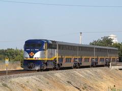 Amtrak 704 (El Cobrador) Tags: california railroad train amtrak locomotive passenger sacramento sanjoaquin intercity emd f59phi