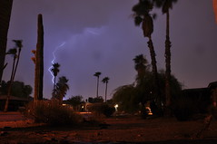 DSC_0014 (georgerocheleau) Tags: arizona cactus rain night desert thunderstorm lightning mesa stormnight arizonathunderstorms