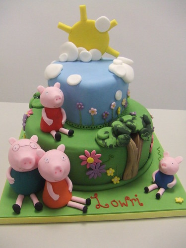 Peppa pig by www.cakechester.co.uk