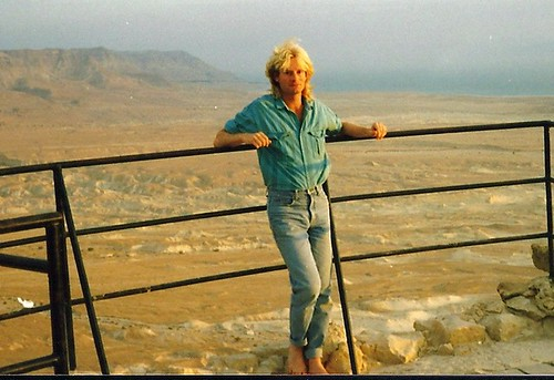 David Ben-Ariel at Masada