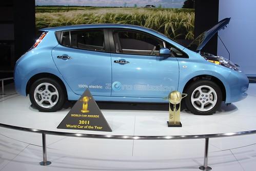 日産リーフ ワールド・カー・オブ・ザ・イヤー2011を受賞