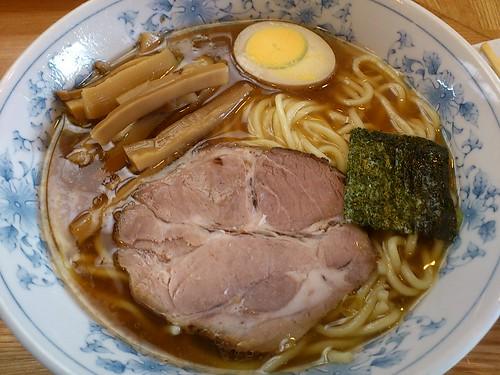 ra110521麺屋 ごとう ラーメン小麺柔らかめ ねきワンタン