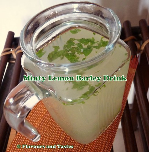 Minty lemon barley