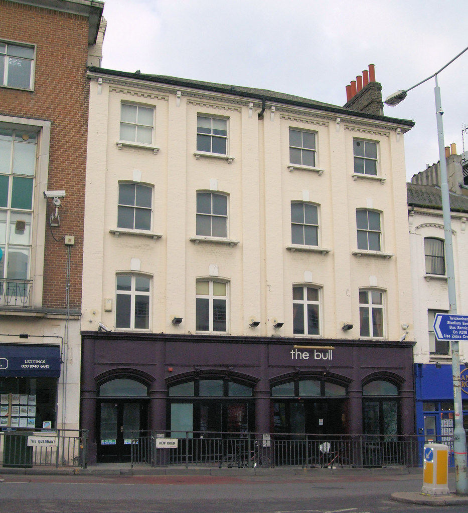 The Bull Pub, Richmond - Venue Of The Rolling Stones' Early Gigs In 1963.