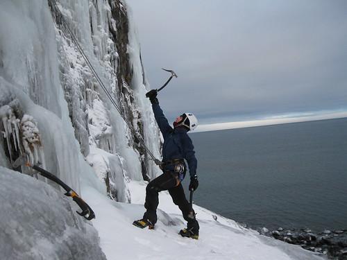 Iceclimbing.Ísklifur.
