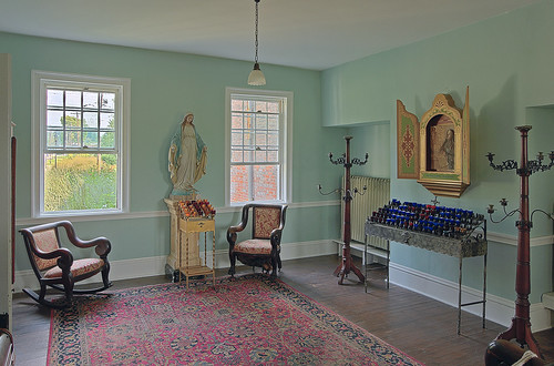Old Saint Ferdinand Shrine, in Florissant, Missouri, USA - Convent parlor