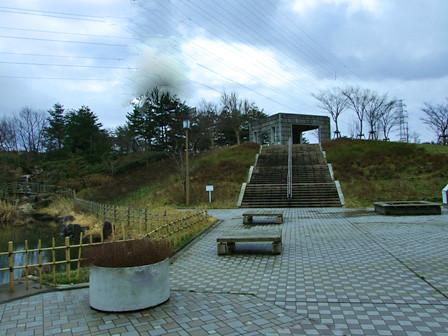 道の駅豊栄内の公園