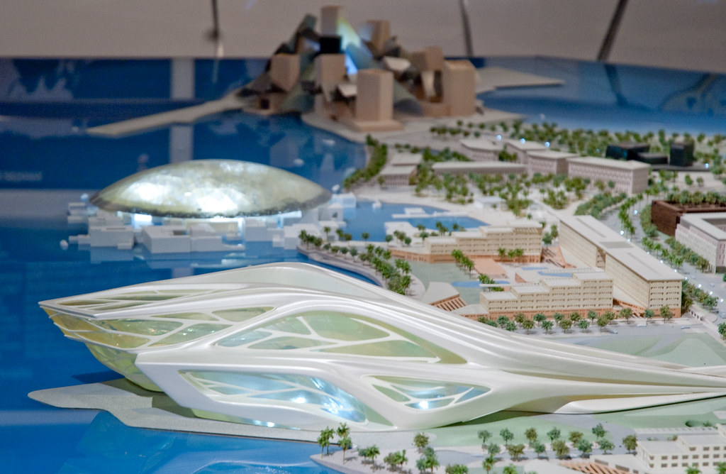 Desain Rumah Minimalis: Modern Building Design of Abu Dhabi Arts ...