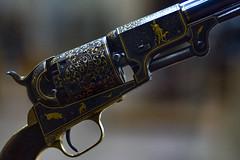 Colt Third Model Dragoon Percussion Revolver (Tiz_herself) Tags: ny newyork art guns museums colt themet pistols weapons array samuelcolt revolvers