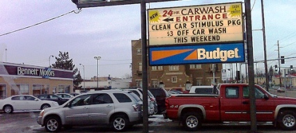 Cheap Car Wash!