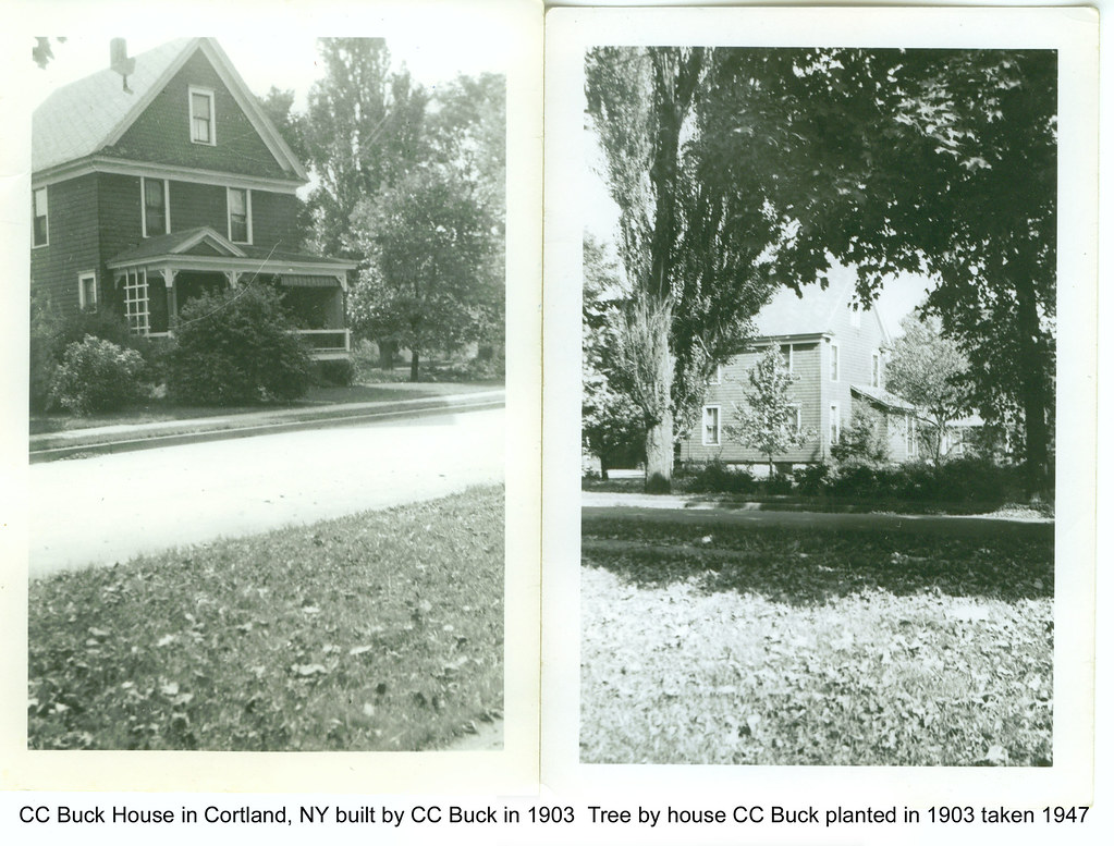 C C Buck Cortland house