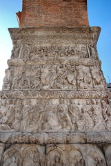 Arch of Galerius (detail)