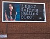 Amy Winehouse, Duffy, Coca-Cola and cocaine - 'guerrilla billboard' by dr.d (chrisjohnbeckett) Tags: street urban music streetart brick celebrity london pasteup art rivalry advertising poster media satire fame coke billboard identity commercial drugs cocacola duffy islington diva cocaine amywinehouse londonist rival drd sellingout roscoestreet chrisbeckett