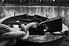 Break the rules (I'mMarco) Tags: life bw river flow liberty freedom boat barca break fiume rules padlock node libertà rompere nodo lucchetto regole scorre nikond80 immarco