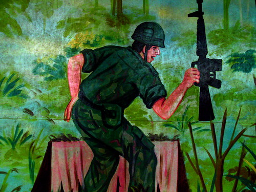 Careful! Bad Vietcong art. (5)