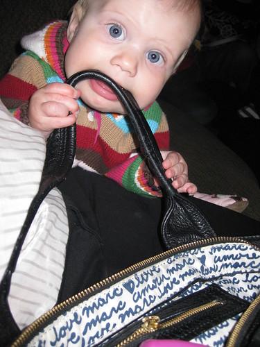 chloe already loves marc!