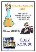 Kimya Ödev Kapağı - 1