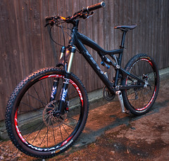 Yeti 575 Mountain Bike in HDR