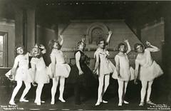 Pony Ballet at the Racquet Club, ca. 1900 (Missouri Hist
