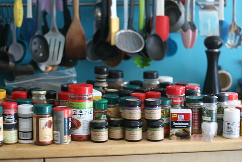 most of my spice collection