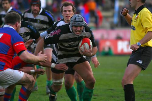 Boscolo, terza linea della Futura Park Rugby Roma
