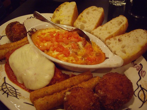 Salvi's Appetizer Sampler