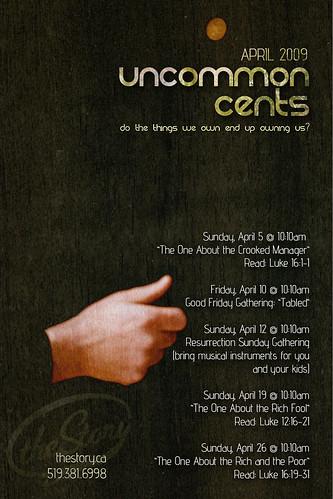 Uncommon Cents - April 2009
