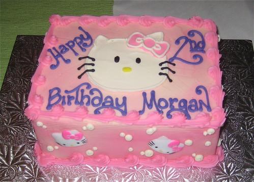 Morgan's second birthday cake