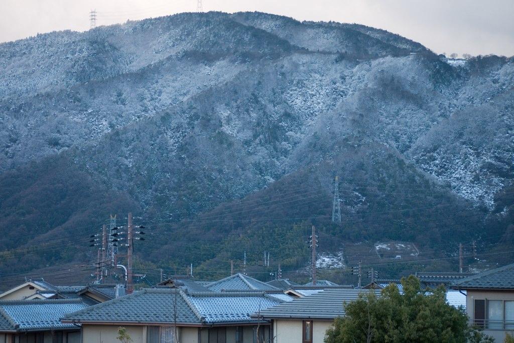 snowy Kyoto Katsurazaka
