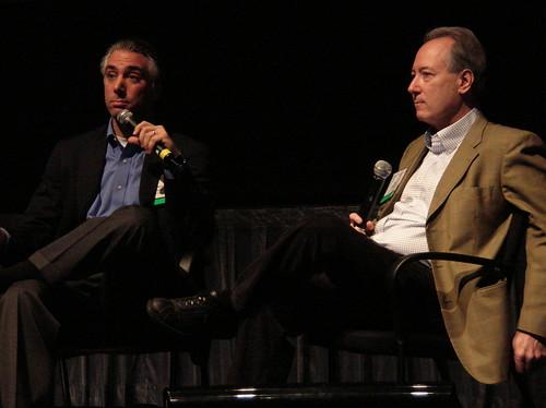 Kevin Werbach and Dan Gillmor