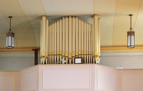 Saint Joseph Church, in Meppen, Illinois, USA - pipe organ