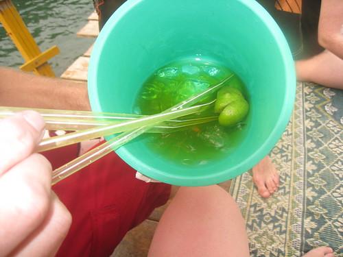 A Lao bucket