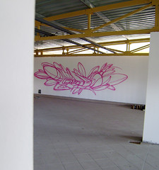 the first steps (mrzero) Tags: building abandoned lines wall effects graffiti sketch freestyle paint hungary eger letters style spray colored spraypaint graff cfs mrzero
