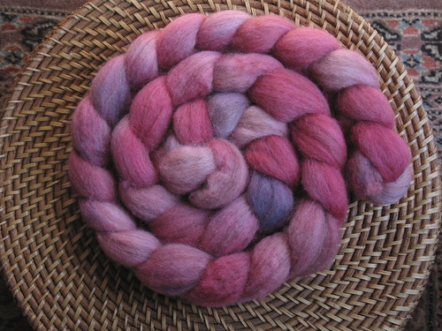 Vines Winter Rose BFL, 3.75 0z.