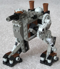 Scout Steam Bi-Walker Mk. XXXI (aillery) Tags: war lego military great scout steam walker steampunk