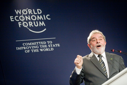 World Economic Forum 拍攝的 Luiz Inacio Lula da Silva - World Economic Forum on Latin America 2009。