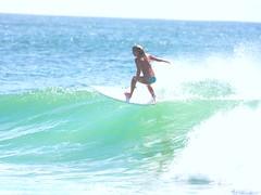 snapper rocks local (rod marshall) Tags: beach sunshine gold coast rocks waves surfer australia surfing bikini pro snapper snapperrocks superbank womensurfing