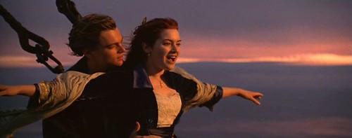 Titanic escena