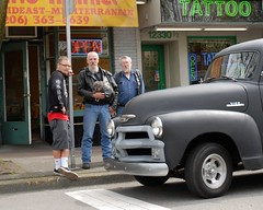 Lake City Guys (Fighting Reality Photography) Tags: black men tattoo truck puppy break tag relaxing chillin 8x10 crop dudes lakecity 1870mm nikond80 afsnikkor