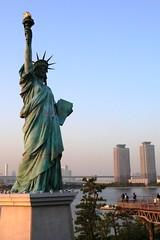 Tokyo - Odaiba - Statue of Liberty (Annie Guilloret) Tags: tokyo odaiba statueofli
