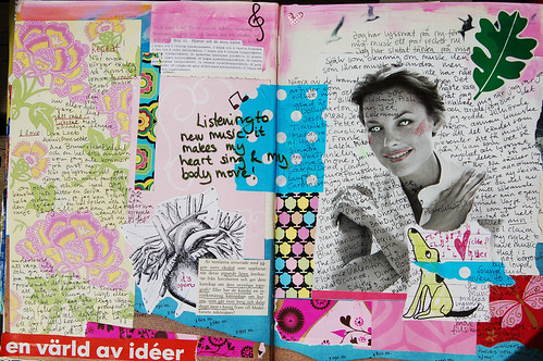 How to add Journaling to your Art Journal (I of III on text)