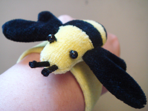 Bumble Bee Slap Bracelet!