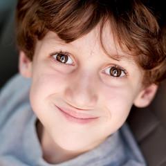 Little Man (~Kerry Murphy) Tags: square browneyes boychild