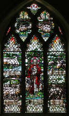 East window, Herringswell (TheRevSteve) Tags: church parish suffolk stainedglass anglican stethelbert herringswell christopherwhall landranger154