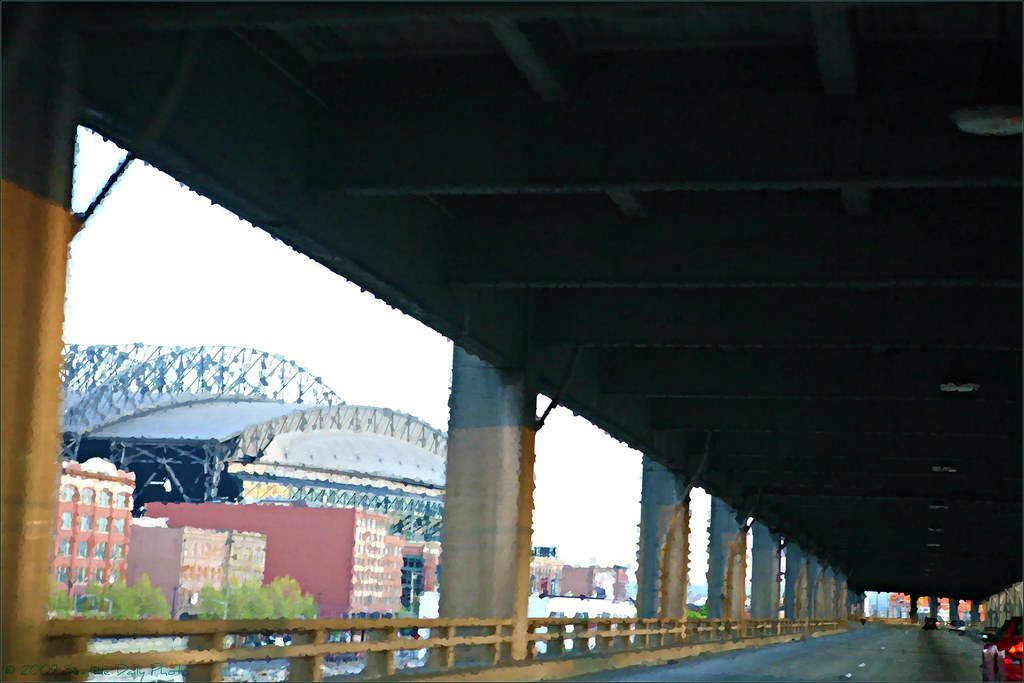 Viaduct Past Safeco Field