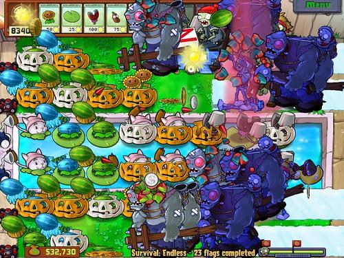 Plants vs.Zombies Imitator