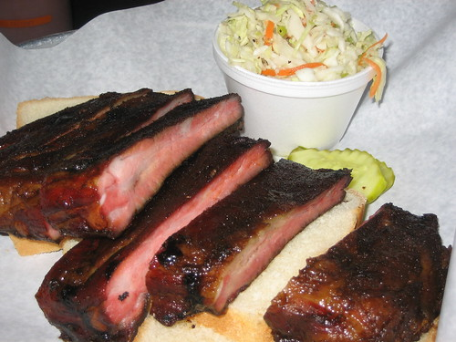 St. Louis Ribs at RUB BBQ