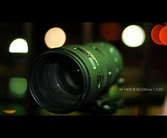 DAY FOURTEEN - NIKON PORN (architer) Tags: window colors lens 50mm nikon bokeh 14 telephoto 28 nikkor 18 fourteen 80200 d300 sb800